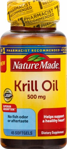 Nature Made Krill Oil Softgels 500mg Perspective: front