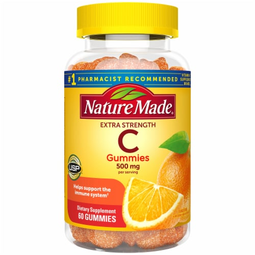 Nature Made Vitamin C Gummies 500mg Perspective: front