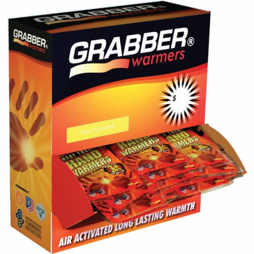 Grabber Disposable Hand Warmer HWES120 Pack of 120 Perspective: front