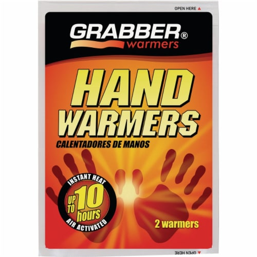 Grabber Disposable Hand Warmer Perspective: front