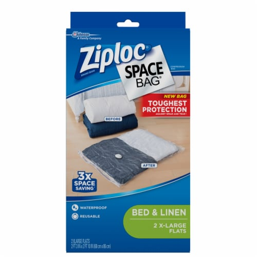 Ziploc® Space Bag® Vacuum Seal Storage Bag Perspective: front
