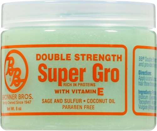 Bronner Brothers Super Gro Hair & Scalp Treatment Perspective: front