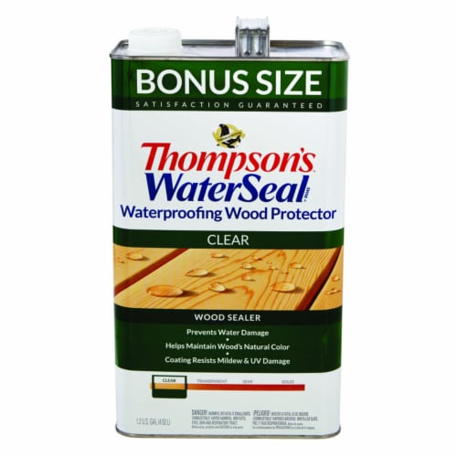 Thompsons WaterSeal Waterproofing Clear Wood Protector Perspective: front