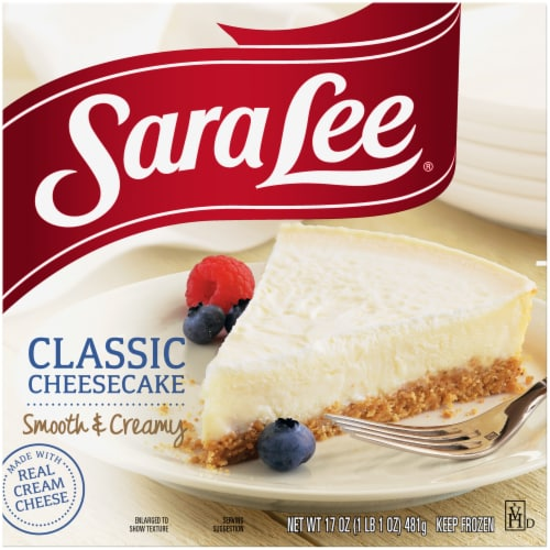 Sara Lee Classic Cheesecake Perspective: front