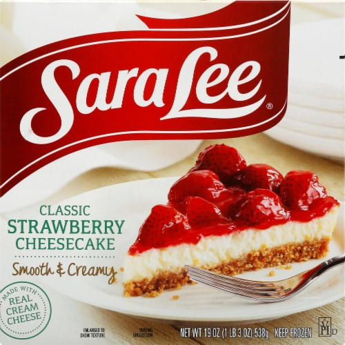 Sara Lee Classic Strawberry Cheesecake Perspective: front