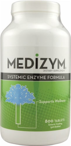 Naturally Vitamins  Medizym® Perspective: front