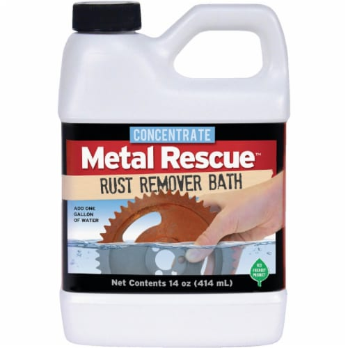 Metal Rescue 14 Oz. Rust Remover Bath Concentrate 14-MRC Perspective: front