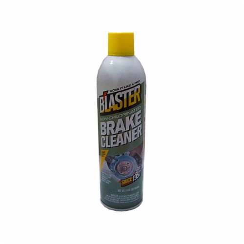 B'laster Non-Chlorinated Brake Cleaner 14oz Aerosol Perspective: front