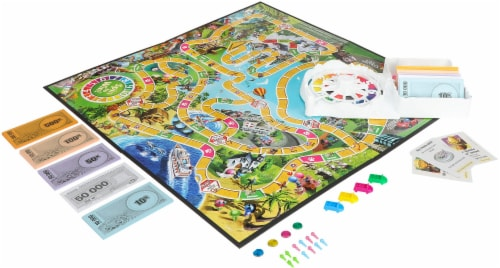 Hasbro The Game of Life Perspective: front