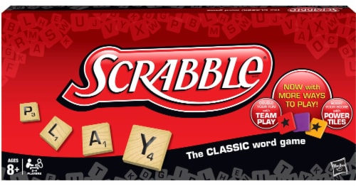 Hasbro Scrabble Game Perspective: front