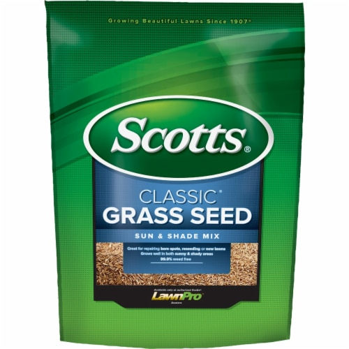 Scotts Classic Mixed Sun/Shade Grass Seed 20 lb. - Case Of: 1; Perspective: front