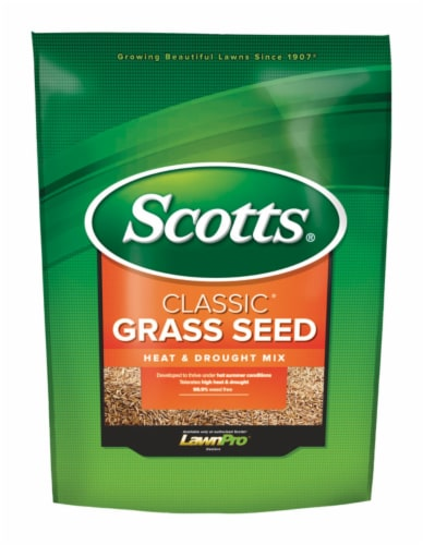 Scotts Classic 7 Lb. 1750 Sq. Ft. Coverage Heat & Drought Grass Seed 17295 Perspective: front