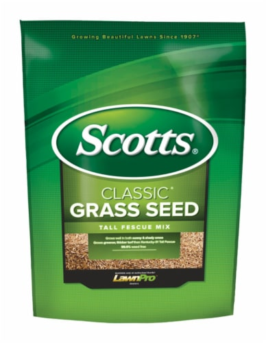 Scotts Classic 3 Lb. 650 Sq. Ft. Coverage Tall Fescue Grass Seed 17323 Perspective: front