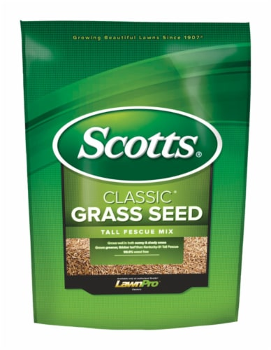 Scotts Classic Tall Fescue Sun/Shade Grass Seed 20 lb. - Case Of: 1; Perspective: front