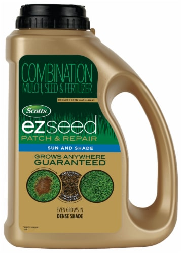 Scotts® EZSeed Patch & Repair Sun & Shade Fertilizer Perspective: front