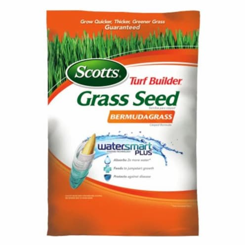 Scotts Lawns 216136 10 lbs Bermudagrass Turf Builder Grass Seed Perspective: front