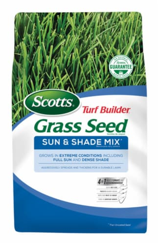 Scotts® Turf Builder Sun and Shade Mix Grass Seed Perspective: front