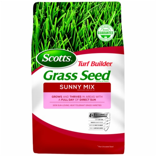 Scotts Turf Builder 3 Lb. Up To 1350 Sq. Ft. Coverage Sunny Grass Seed 18345 Perspective: front