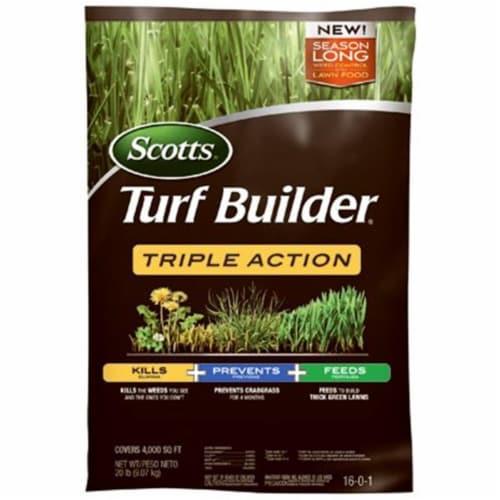 Scotts Lawns 235544 10000 sq. ft. Coverage Turf Builder Triple Action Fertilizer Perspective: front