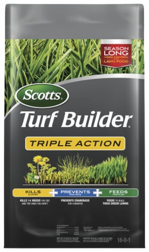 Scotts® Triple Action Turf Builder Fertilizer Perspective: front