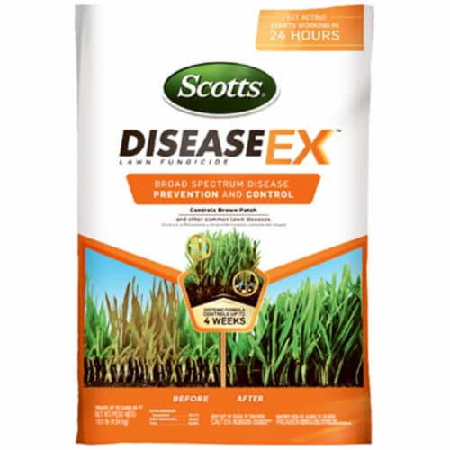 Scotts Lawns 232550 5000 sq. ft. Coverage Disease-Ex Lawn Food Perspective: front