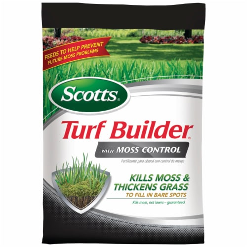 Scotts® Turf Builder with Moss Control Perspective: front