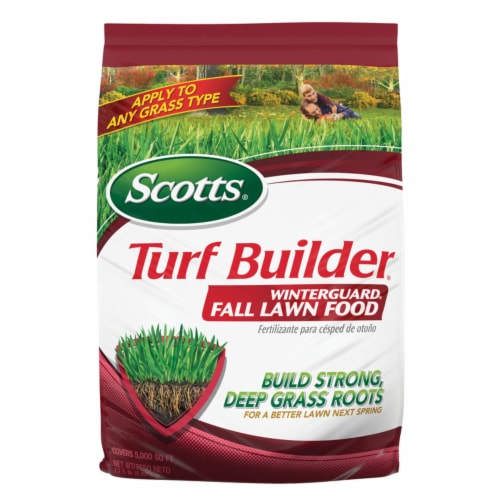 Scotts® Turf Builder WinterGuard Fall Lawn Food Perspective: front