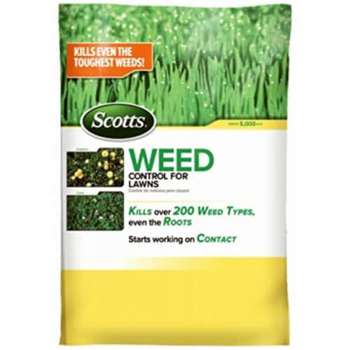 Scotts 14 Lb. Ready To Use Granules Weed Killer 49801C Perspective: front
