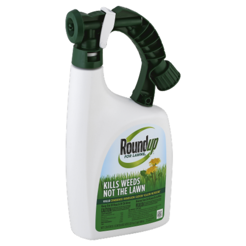 Round Up® Weed Killer For Lawns Perspective: front
