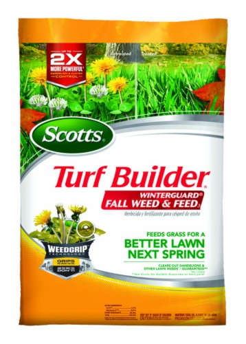 Scotts® Turf Builder WinterGuard Fall Weed & Feed Perspective: front