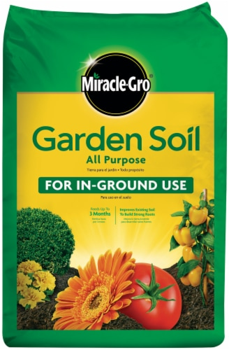 Miracle-Gro All Purpose Garden Soil Perspective: front
