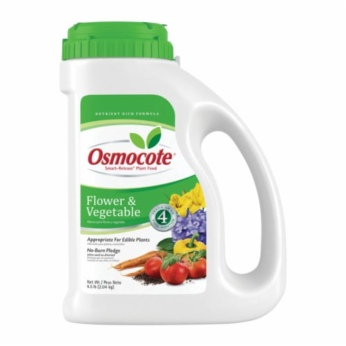 Osmocote Smart Release Flower and Vegetable Plant Food Perspective: front