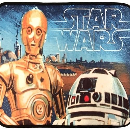 Star Wars 801369 Star Wars C-3PO Foam Bath Mat Perspective: front