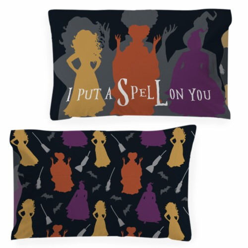 Jay Franco Hocus Pocus Trick or Treat Pillowcase Perspective: front