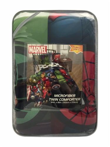 Marvel Avengers Microfiber Twin Comforter Perspective: front