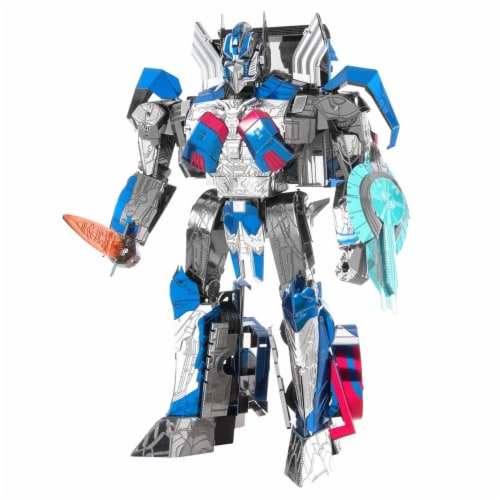 Metal Earth Iconx Transformers Last Knight Optimus Prime Steel Model Kit Perspective: front