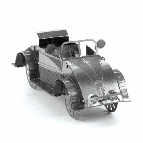 Metal Earth Beach Buggy Model Kit Perspective: front