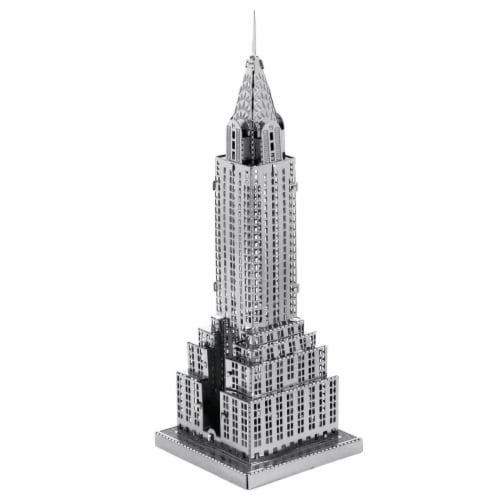 Metal Earth Chrysler Building Model Kit Perspective: front