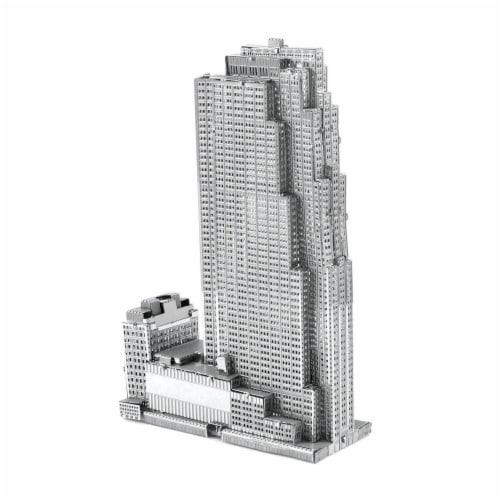 Metal Earth 30 Rockefeller Plaza Model Kit Perspective: front