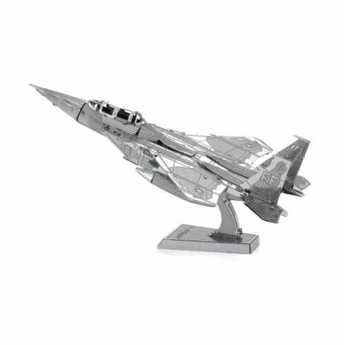 Metal Earth F-15 Eagle Jet Model Kit Perspective: front