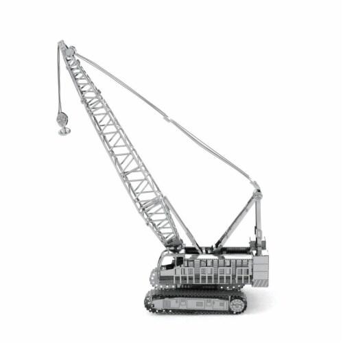 Metal Earth Crawler Crane Model Kit Perspective: front