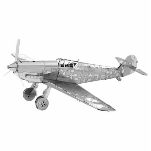 Metal Earth Messerschmitt BF-109 Plane Model Kit Perspective: front