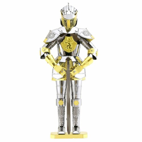 Metal Earth European Armor Model Kit MMS142 Perspective: front