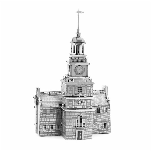 Metal Earth Independence Hall Model Kit MMS157 Perspective: front