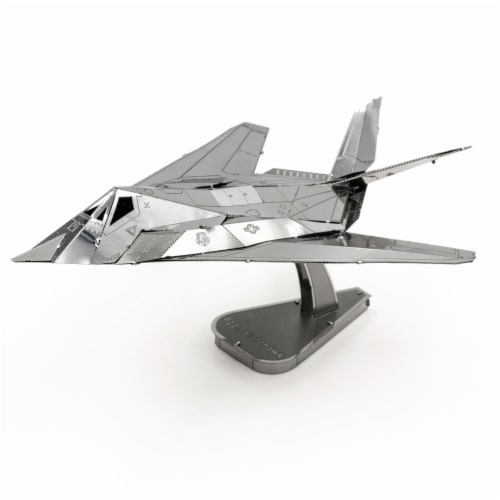 Metal Earth F-117 Nighthawk Model Kit MMS164 Perspective: front