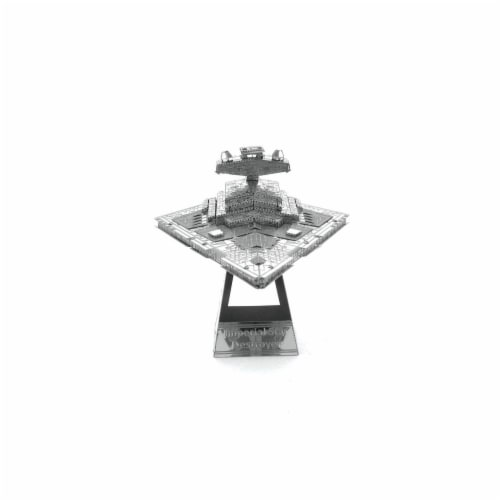 Metal Earth Star Wars Imperial Star Destroyer 3D Model Kit MMS254 Perspective: front