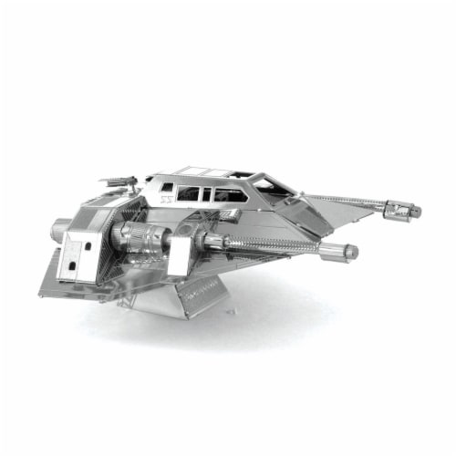 Metal Earth Star Wars Snow Speeder 3D Model Kit MMS258 Perspective: front