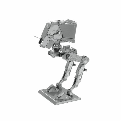 Metal Earth Star Wars AT-ST 3D Model Kit MMS261 Perspective: front