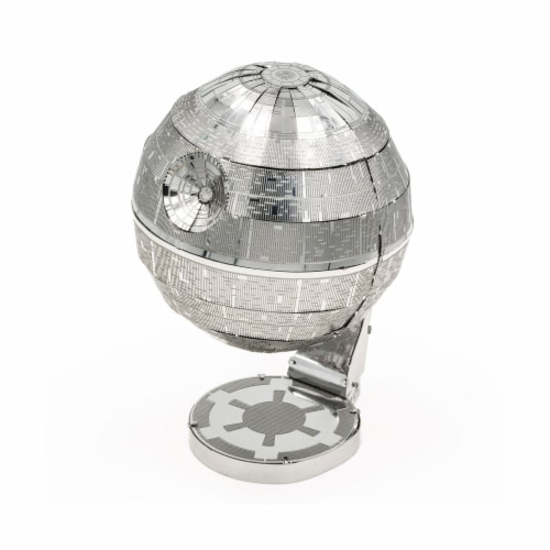 Metal Earth Star Wars Death Star Model Kit MMS278 Perspective: front