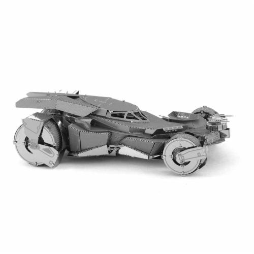 Metal Earth DC Batman Vs Superman Batmobile Steel Model Kit Perspective: front